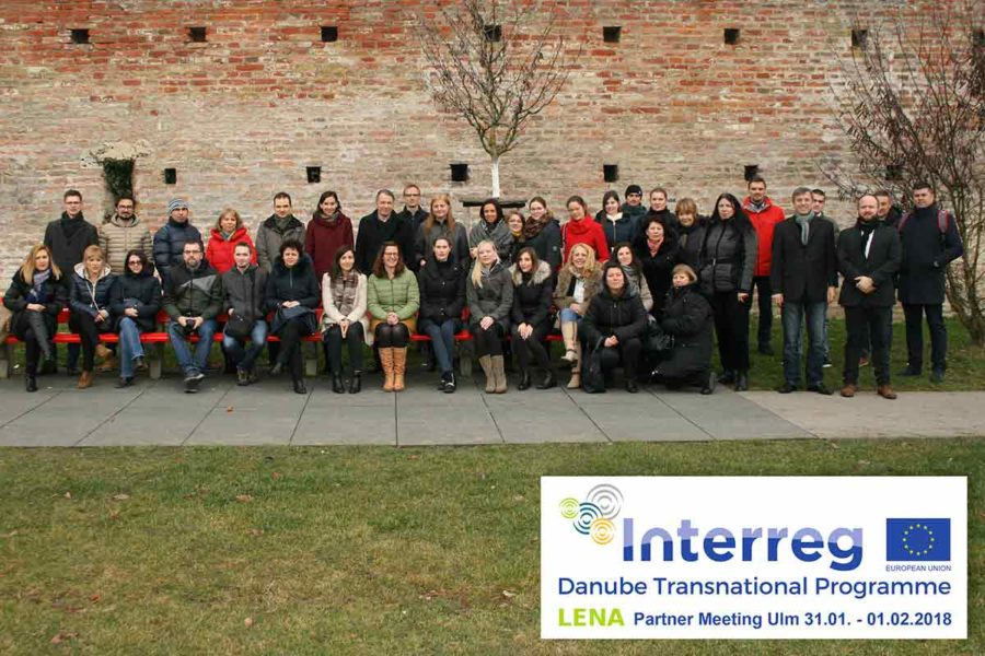 40 Vertreter aus dem LENA-Projekt in Ulm
