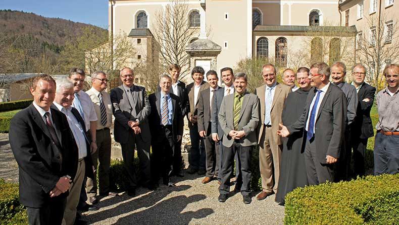Gründungstreffen im Kloster Beuron - März 2011